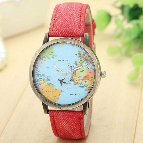 hodinky_cervene